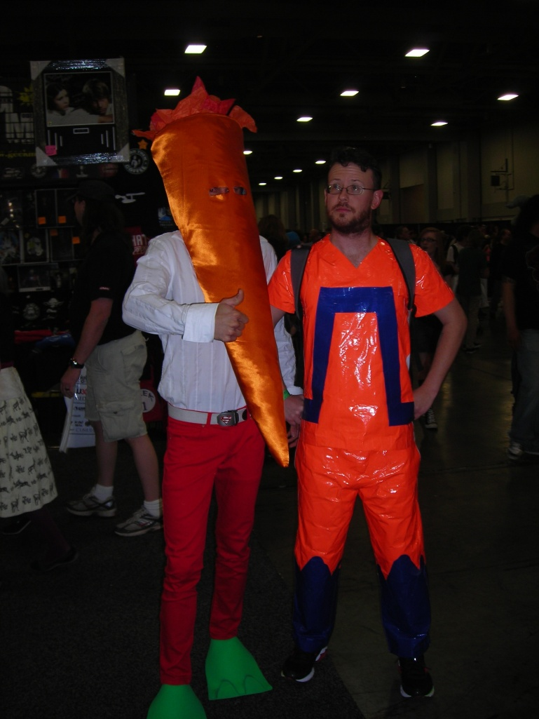 Animal Man and Carrot