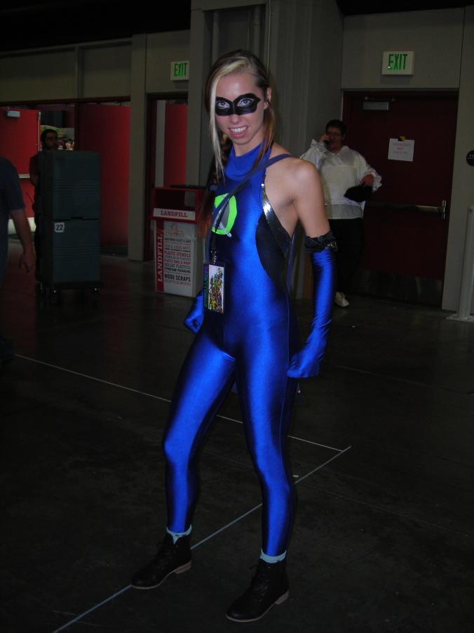 Blue costume