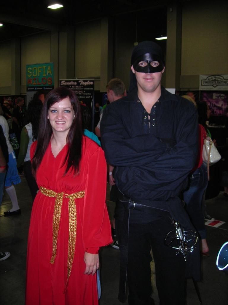 Buttercup and Dread Pirate Roberts