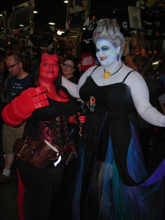 Hellboy:girl and Ursula