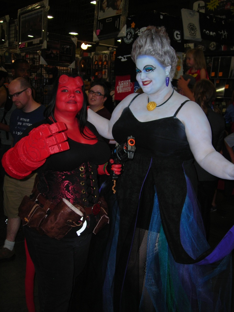 Hellboy:girl and Ursula