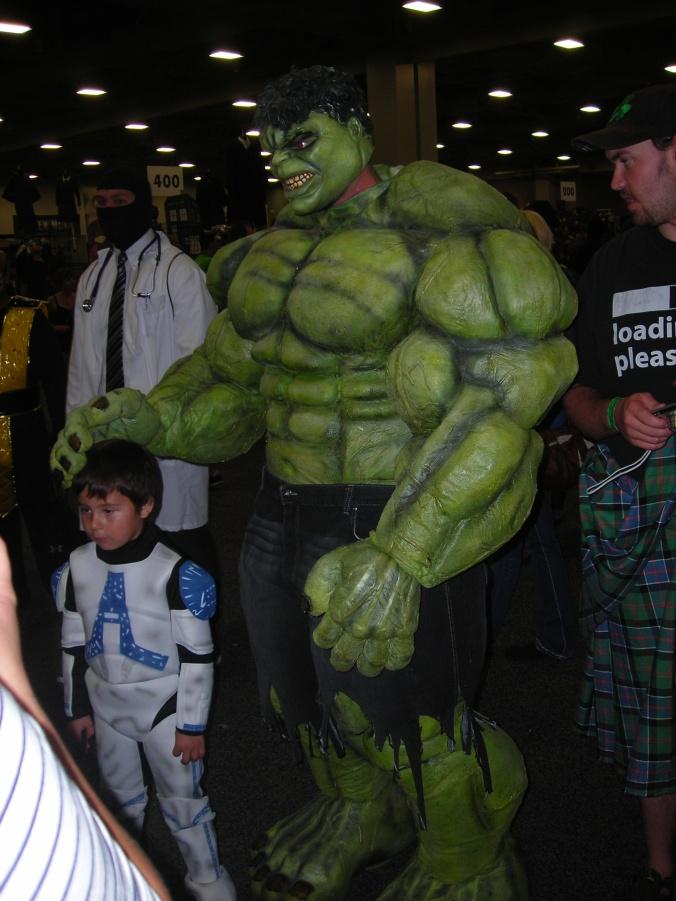Hulk and child