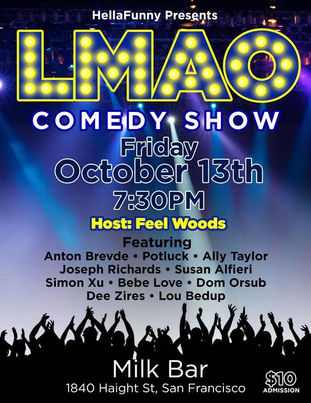 Hella Funny Oct 13 Show
